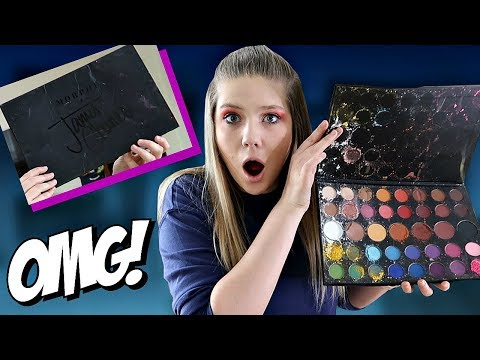 I Destroyed my Sisters James Charles Palette | Prank Wars | Taylor and Vanessa thumbnail