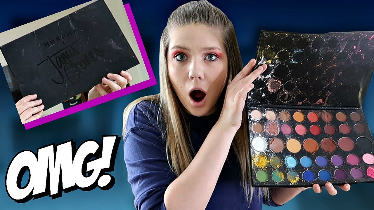 I Destroyed my Sisters James Charles Palette | Prank Wars | Taylor and Vanessa