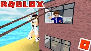 ROBLOX-You HAVEN'T STARTED SCHOOL and WE'RE RUNNING AWAY!!! -(Obby School Escape!)