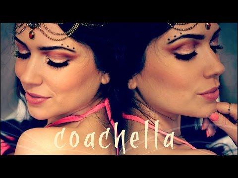 Music Festival (Coachella/Celtic inspired) Makeup Tutorial