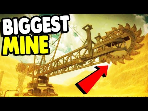 BIGGEST Mining Machine on EARTH | Giant Machines 2017 Gamepl