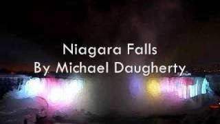 Niagara Falls By Michael Daugherty