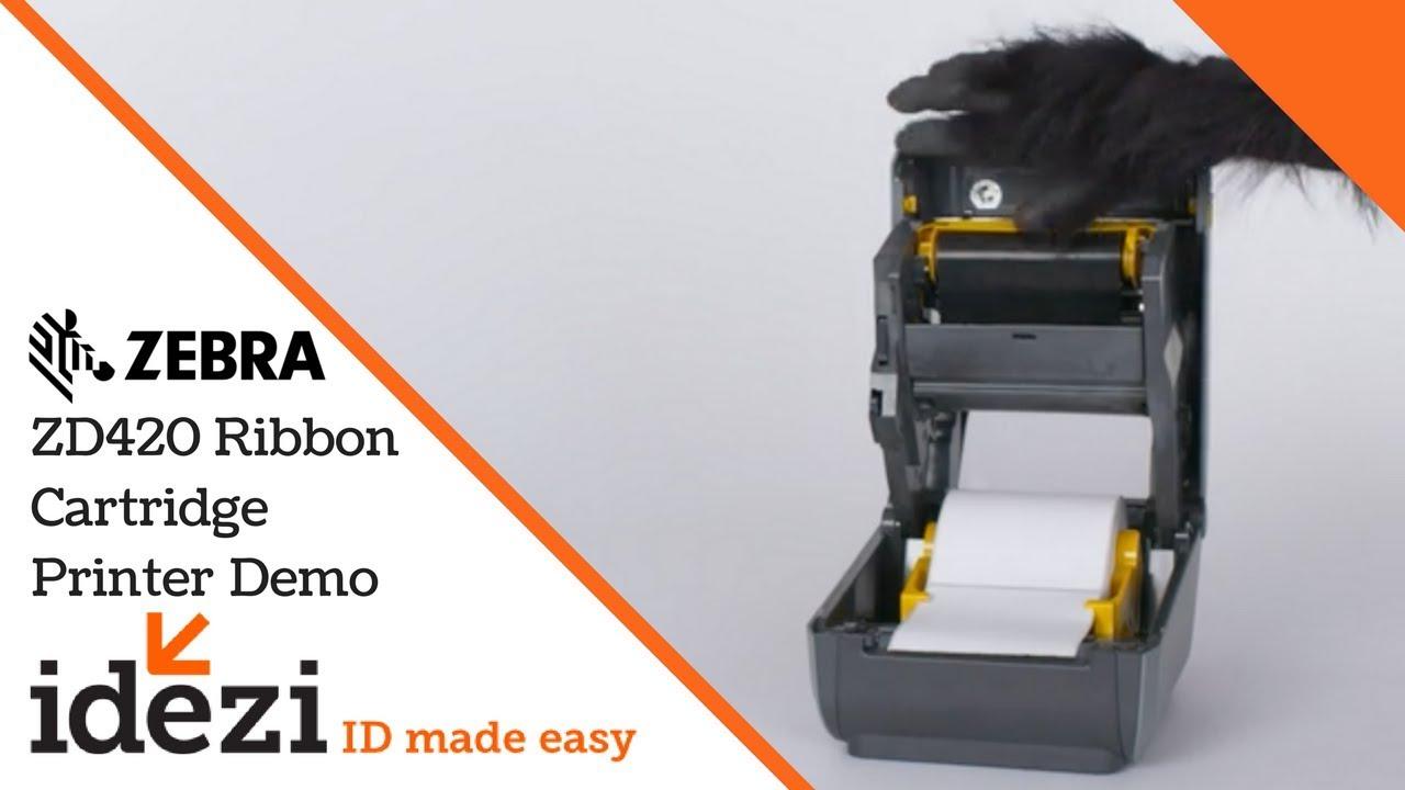 Zebra ZD420 Series Desktop Printers Zebra Demo - Idezi