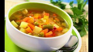 Как приготовить Суп - Простой Овощной Суп