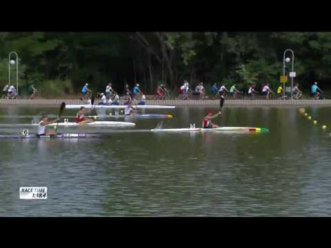 K1M 1000m Final A - 2017 ECA Canoe Sprint European Championships