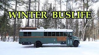 Winter Buslife - Fail