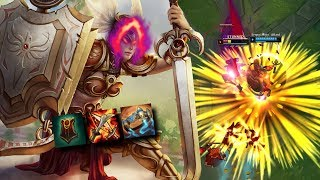 "Troll the Meta - Full AP Dark Harvest ""Support"" Leona | LoL edit Gameplay"