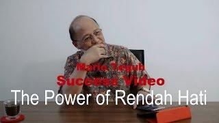 Video The Power of Rendah Hati - Mario Teguh Love & Relationship download MP3, 3GP, MP4, WEBM, AVI, FLV November 2017