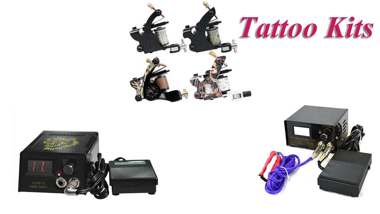 Top 5 best Tattoo Kits for Cheap 2019 - YouTube