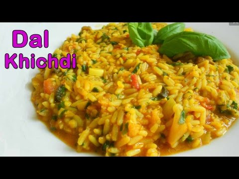 Dal Khichdi Recipe - Easy & Quick To Cook Rice Recipes - Health Food