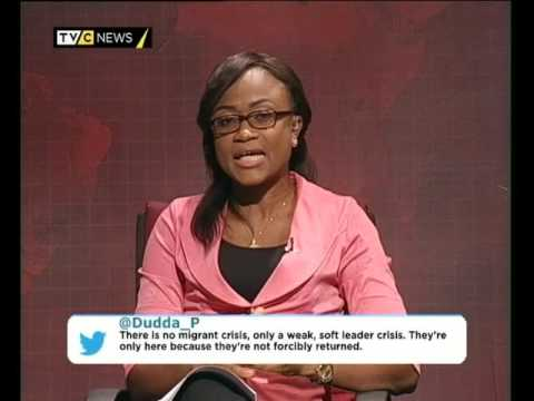 AFRICA TODAY ON AFRICAN MIGRANTS WITH TOSIN AKANDE
