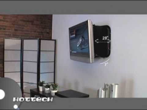 CLO Systems Xarm Motorized TV Wall Mount Featured on Hottech YouTube