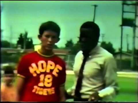 1970 Special Olympics With Port-A-Pit And Rafer Johnson