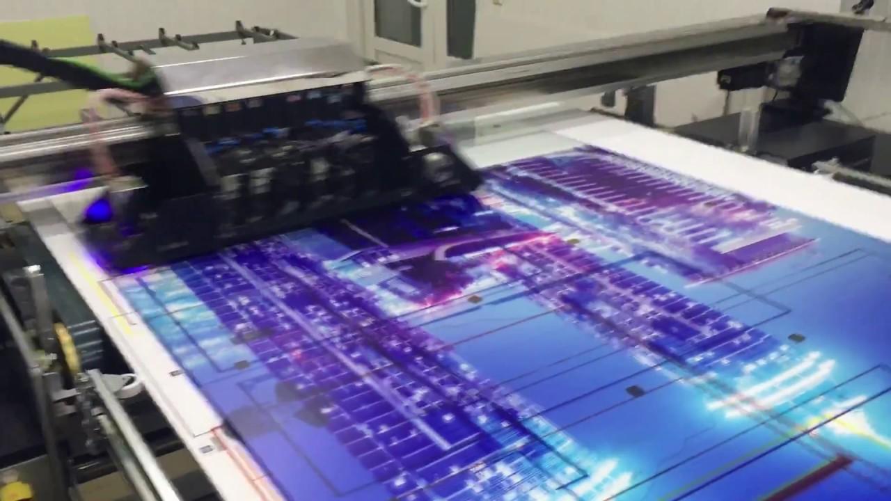 Ультрафиолетовая печать на стекле. УФ печать. NEO UV-LED Evolution 1.6