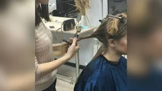 Кератиновое выпрямление волос Уход за волосами Выпрямление волос Как сделать волосы прямыми