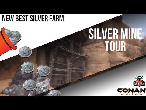 Conan Exiles/Silver Mine Tour/Best Silver Farm |