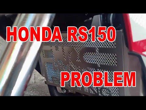 Honda RS150 Radiator Issue