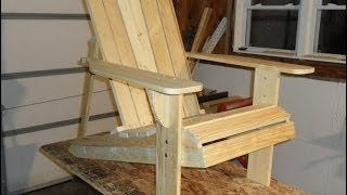 Adirondack Chair Project Update