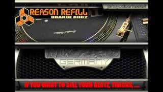PROPELLERHEADS Reason 1-6 REFILL [203 MB Download] ORANGE REFILL 0002