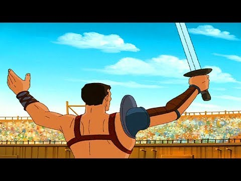 Download SPARTACUS   Humiliated Rome   Full Episode 7   Cartoon TV Series   English