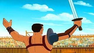 SPARTACUS   Gedemütigt Rom   Full Episode 7   Cartoon TV-Serie   Englisch