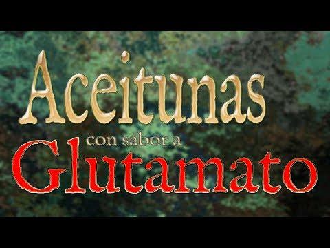 Aceitunas con sabor a glutamato