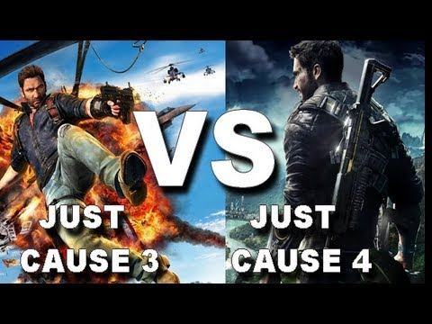 JUST CAUSE 3 Vs JUST CAUSE 4 - ULTIMATE COMPARISON