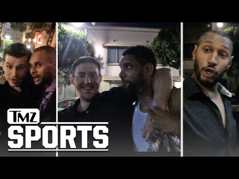 Tim Duncan -- Carries Drunk Teammate Onto Team Bus ... After Hollywood Rager | TMZ Sports