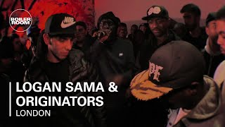 Logan Sama & Originators (ft P Money, OGz & Flirta D) Boiler Room London Live Set