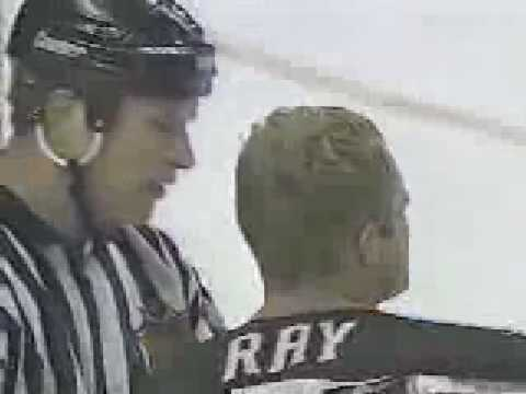 Darren McCarty Vs Rob Ray 10/13/96