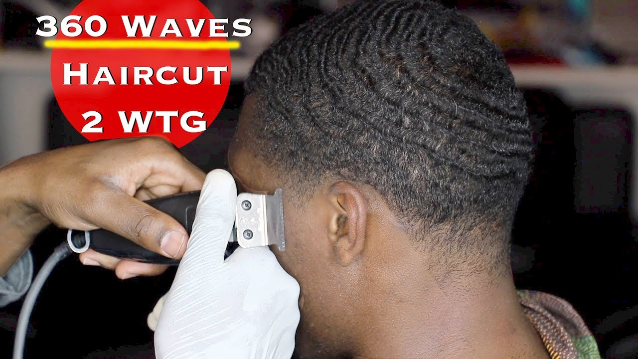 360 Waves Haircut 2 WTG Taper On Sides Back