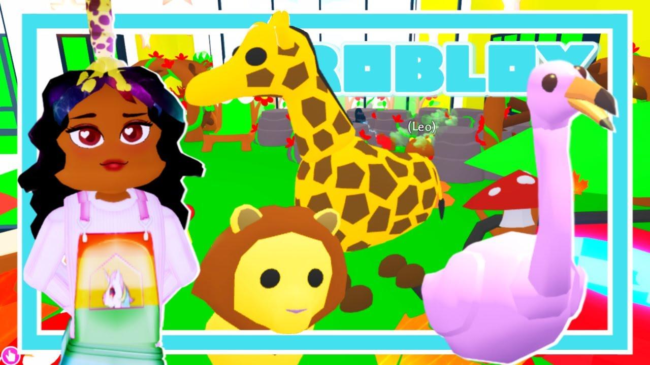 I Built A Pet Zoo In Adopt Me! (Roblox Adopt Me Safari ...