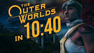 The Outer Worlds Any% Speedrun in 10:40