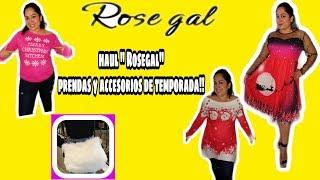 """Haul """"rosegal"""" tienda con diseños para estas proximas fiestas!!!"""