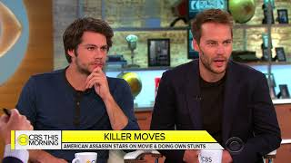 Taylor Kitsch & Dylan O'brien CBS this morning