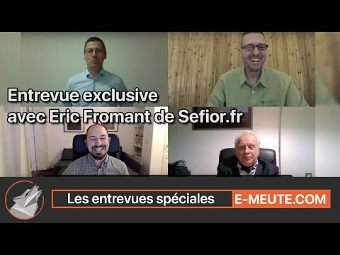 Économie à l'agonie, États-Unis, Europe, une entrevue avec M. Éric Fromant.