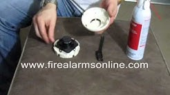 How to Clean a System Sensor Smoke Detector