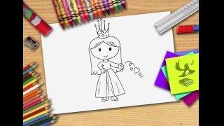 Hoe teken je een prinses? Zelf prinsessen leren tekenen