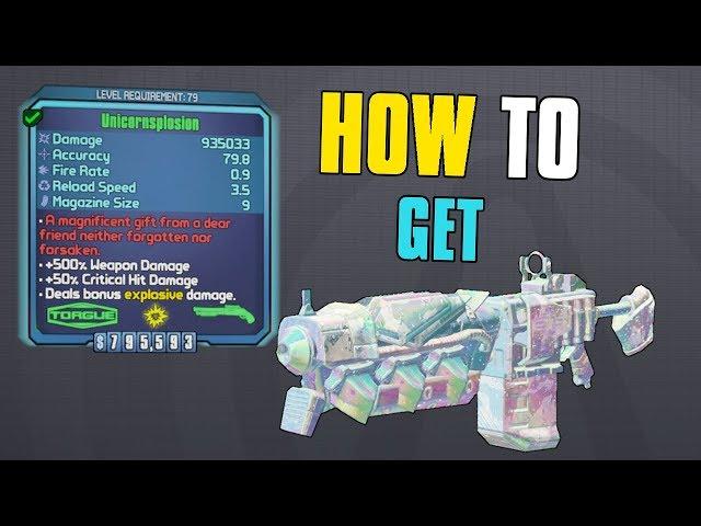 ▷ Borderlands 2: How to Get the Unicornsplosion Rainbow Shotgun
