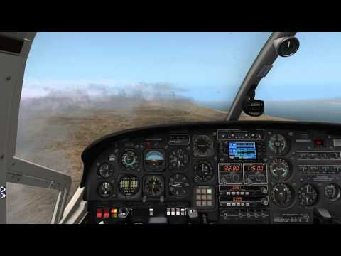 X-Plane 10 HD - Captain Chaosflug Folge 36 - Taba (HETB) nach Jerusalem (LLJR) - C337