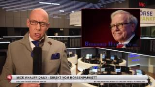 Wie - Warren Buffett kauft Apple und Monsanto Aktien??! - 16.02.2017