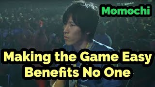 [English Sub] Making the Game Easy Doesn't Benefit Anybody [Momochi]