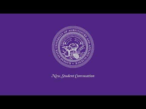 Kansas State University   New Student Convocation 2017