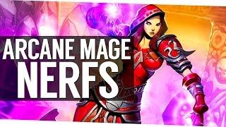 Arcane Mage Nerfs for Patch 7.1.5 - World of Warcraft Legion