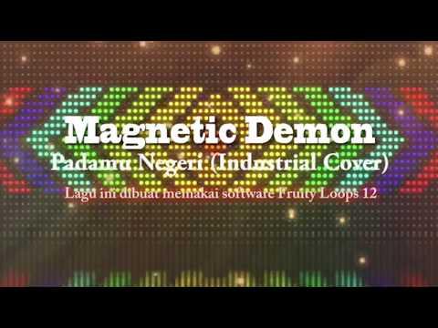 KEREEN!!! Lagu Nasional PADAMU NEGERI/BAGIMU NEGERI versi Industrial Metal karya anak Indonesia
