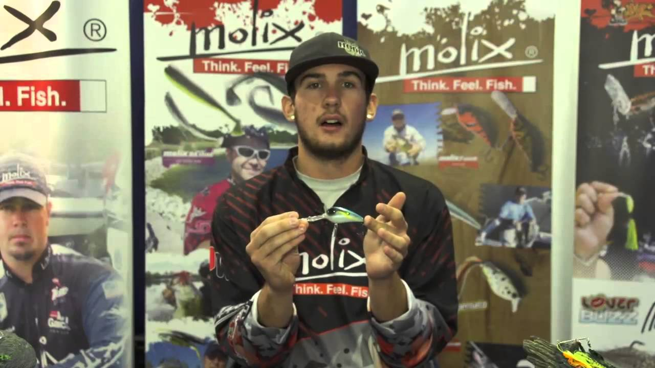 New Molix SB Deep Diving Crankbait | ICAST 2013