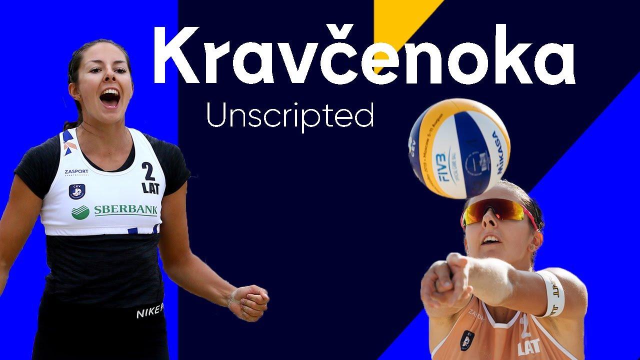 Queen of the Beach Anastasija Kravcenoka | Unscripted