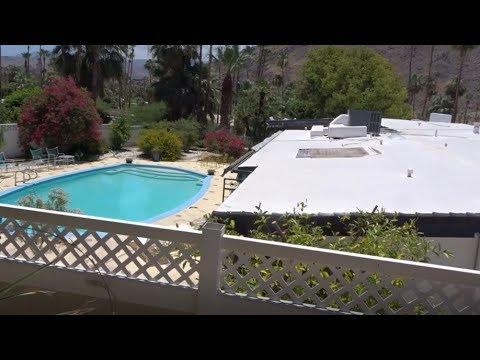 Video 1 of the Palm Springs Star's homes. Elvis and Marilyn Monroe. We snoop.