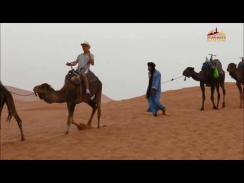 Travel around Morocco - desert trip