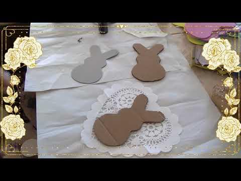 An Easy DIY For Easter/FarmHouse Bunnies!